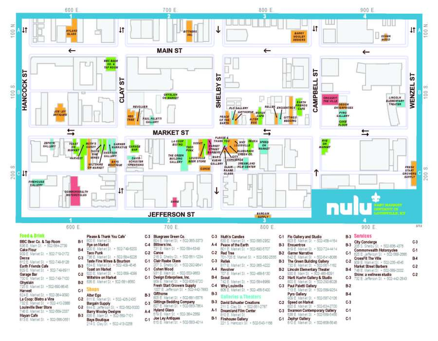 NuLu Map, Page 2